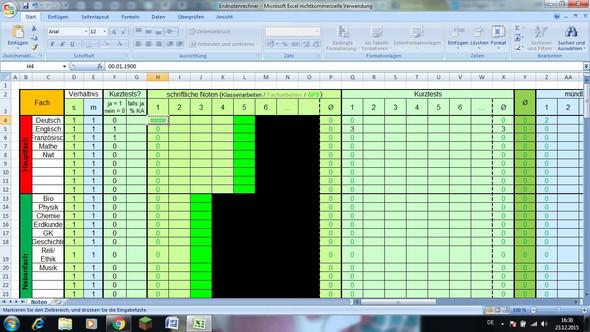 Exel tabelle - (Excel, Tabelle)