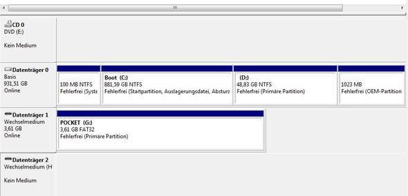 datenträger 2 ist die externe - (Computer, Technik, Festplatte)