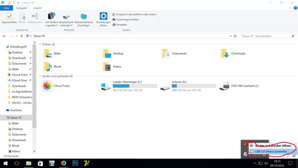Externe Festplatte wird angezeigt, aber kann nicht drauf zugreifen, was tun?