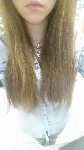 Meine trockenen Haare ;D  - (Mädchen, Haare, Beauty)
