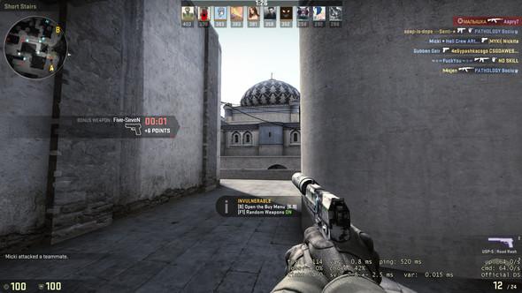 Screenshot aus einem Deathmatch nach 7 Minuten sprang der Ping einfach hoch :( - (PC, Internet, Internetseite)