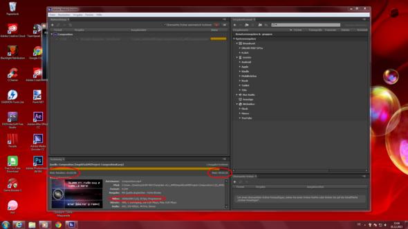 Die Renderzeit - (Adobe, after-effects, rendern)