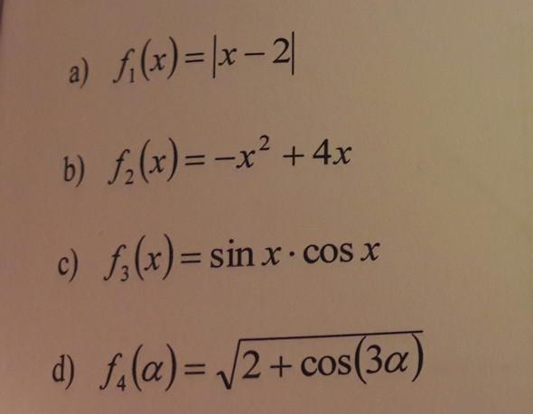 Extremwerte - (Mathe, extremwert, Tiefpunkt)