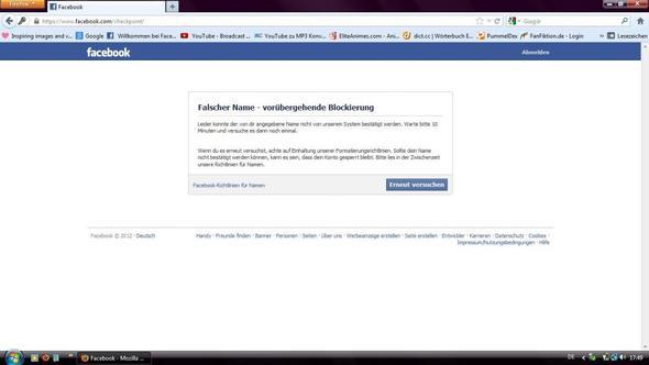 facebook ausweis hochladen umgehen