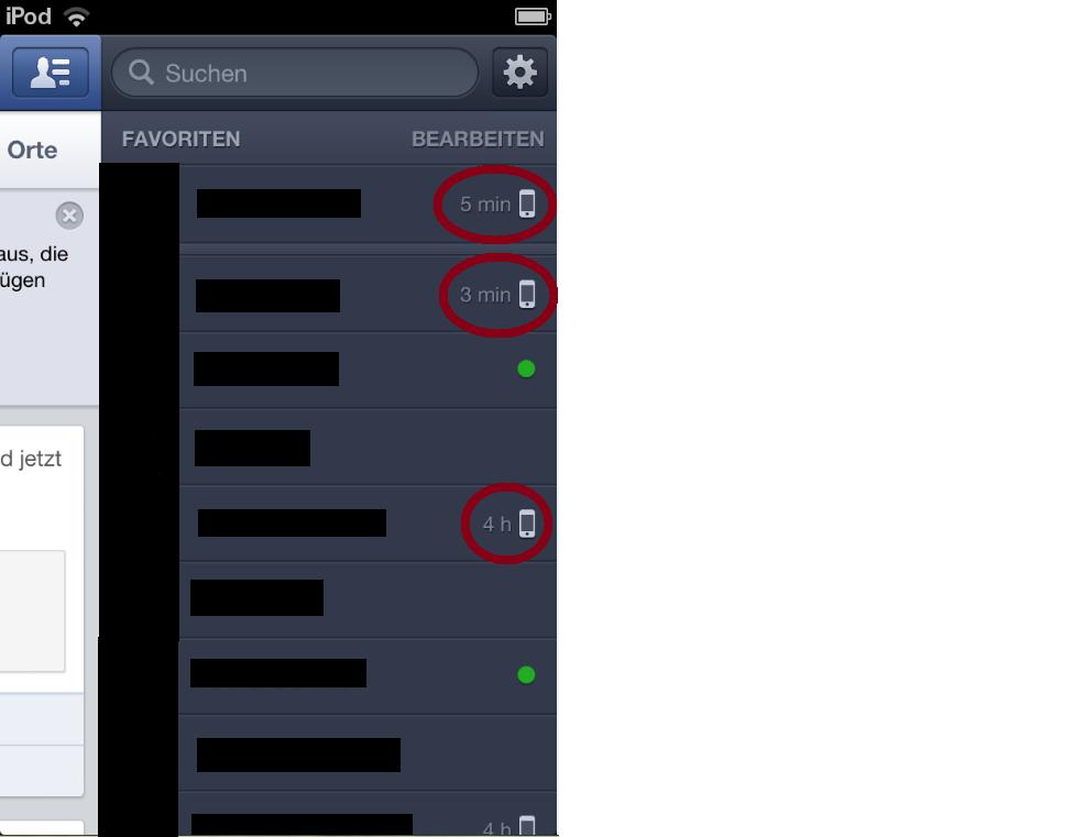 mein chat portal app facebook registrieren alter