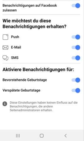 Facebook benachrichtigung?