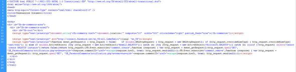 HTML Code - (Java, html, widget)
