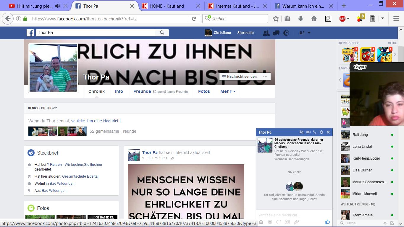 Facebook Freundschaftsanfrage Senden