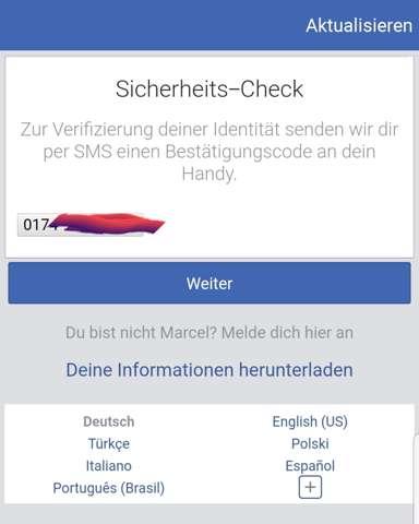 Kein Zugriff Auf Facebook