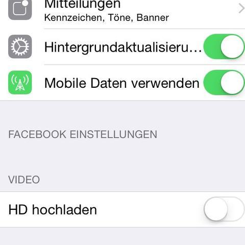 Sceenshot - (Video, Facebook, deaktivieren)
