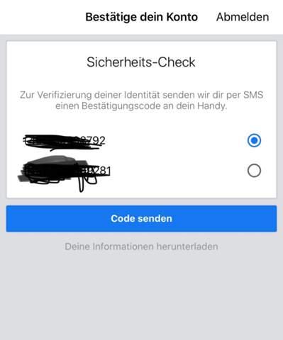 Kommt nicht bestätigungscode sms paypal Familienfreigabe PayPal