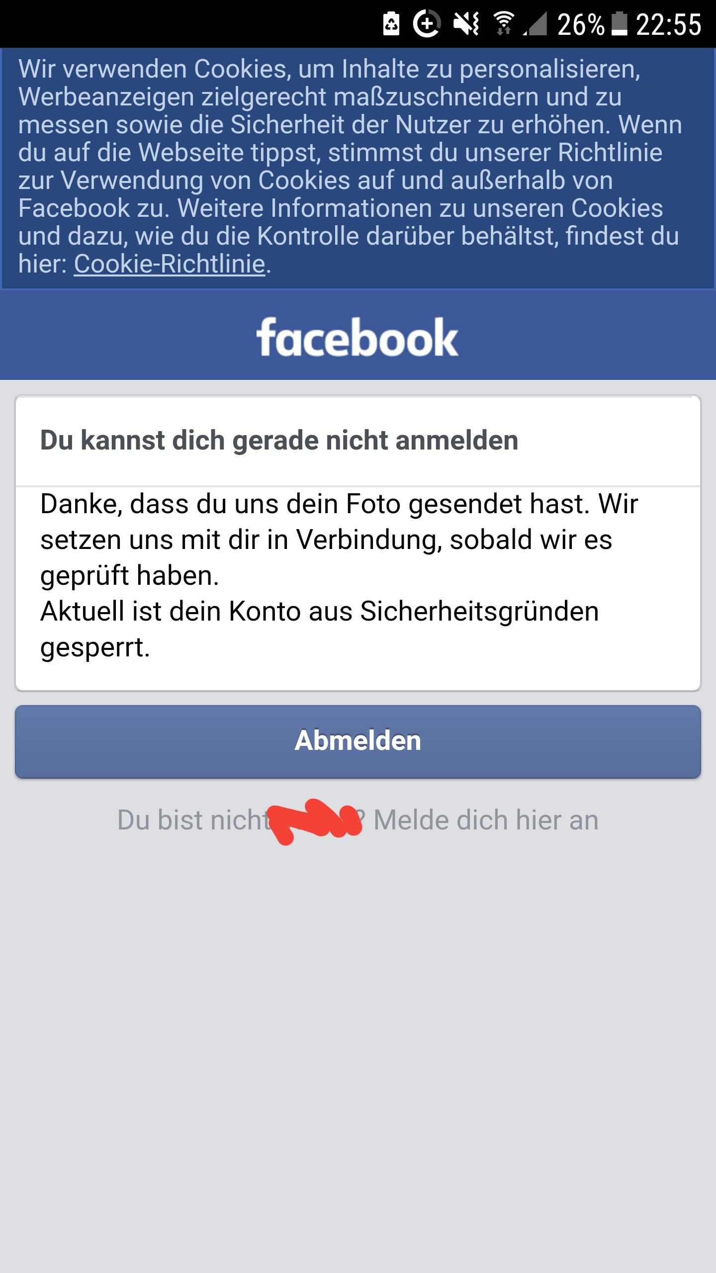 Facebook Identität Bestätigen Dauer