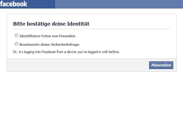 Facebook Ausweis Hochladen