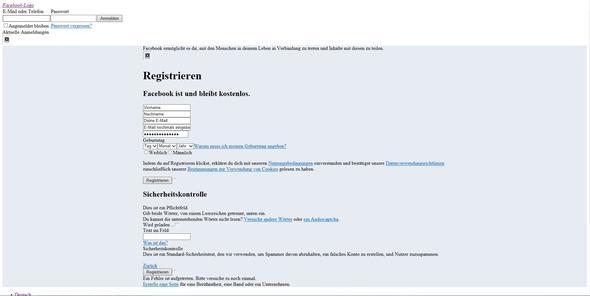 Facebook Internet Explorer - (Facebook, Server, Netzwerk)