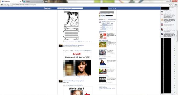 facebook ist so klein... - (Computer, Internet, Facebook)