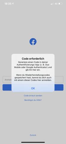 Facebook wurde gehackt und meine email Adresse geändert