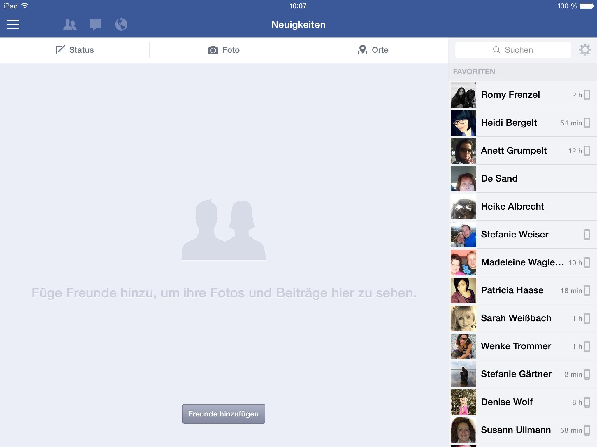 Facebook Zeigt Keine Neuigkeiten Mehr An