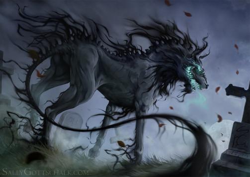 Das Wesen - (Horror, Kreativität, Magie)