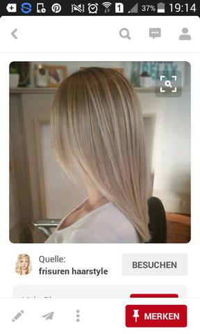 So soll es aussehen 😄 - (Haare, Friseur, blond)