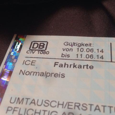 Fahrkarte - (Bahn, Ticket, Zug)