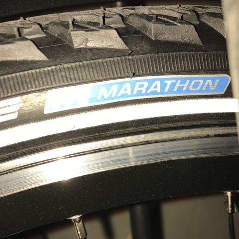 Bild Reifen hinten  - (Fahrrad, Reifen, Felgen)