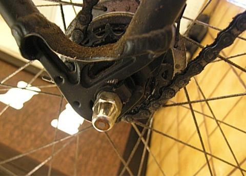 Kettenseite - (Fahrrad, Rad)