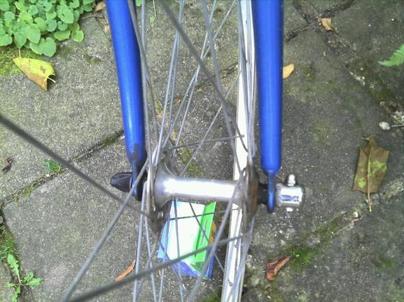 Fahrradachse - (Fahrrad, Handwerk, Rennrad)
