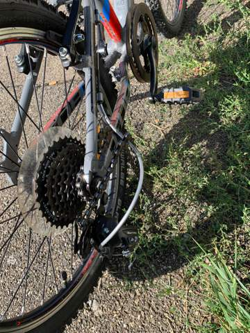 Fahrradkette total verdreht?