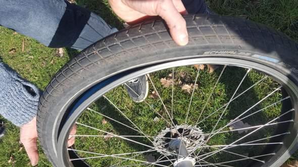 Fahrradreifen kaputt?