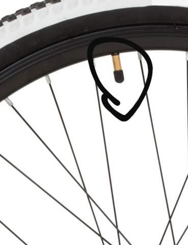 Fahrradreifen wie heißt das Teil?