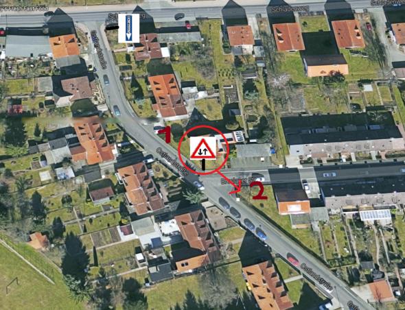 Situation 1 - (Auto, Verkehr, Fahrschule)