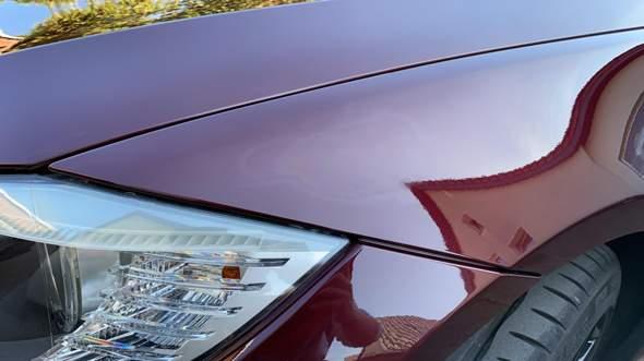 Fahrzeuglack beschädigt nach Politur?