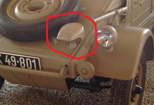 Noch ein Kübelwagen - (Auto, Bundeswehr, Fahrzeug)