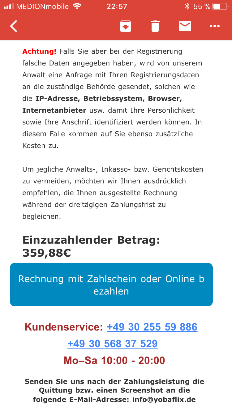 Fake E-Mail(Hilfe)? (Computer)