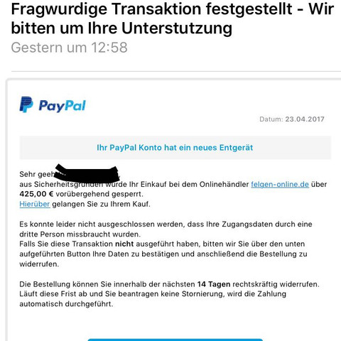 Bei Paypal Geld ZurГјckfordern