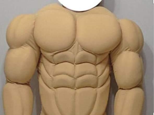 Fake Muskeln?