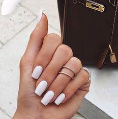 Ich würde dann so eine Länge machen💅🏽 - (Maniküre, Nails)