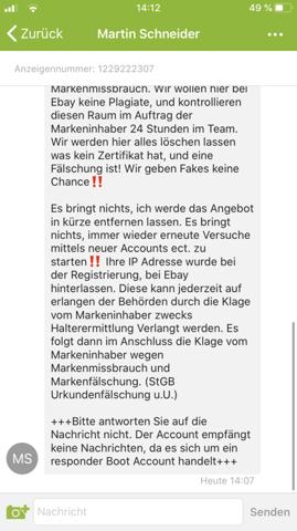 Fake Rolex in ebaykleinanzeigen gesetzt? (Recht, Geld, Uhr)