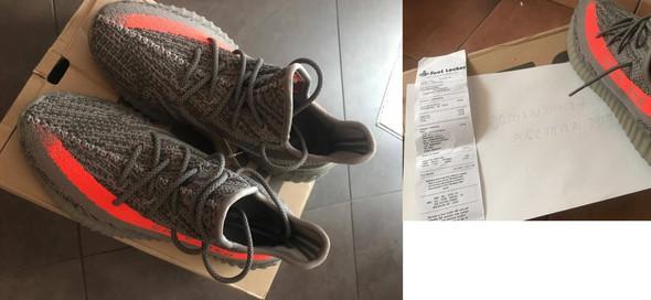 - (eBay, Rechnung, adidas)