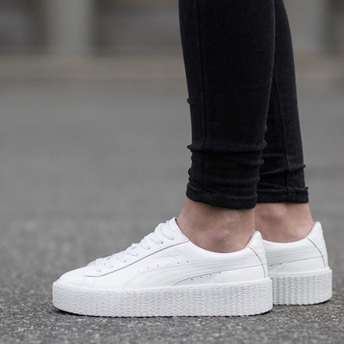 Puma Creepers Weiß Gold webit services
