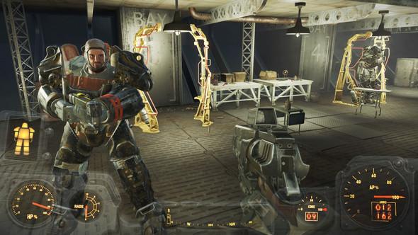 Fallout 4 Andere Powerrustungs Station Gibt Es Einen Bauplan Computer Games