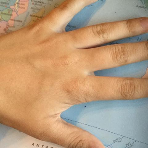 Tadaaaa - (Kosmetik, Hand, falten)