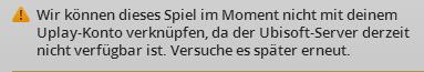 Fehlermeldung - (Ubisoft, uplay, far cry 3)