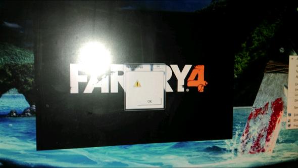 Fehlermeldung direkt nach dem Start - (PC, grafikfehler, Far Cry4)