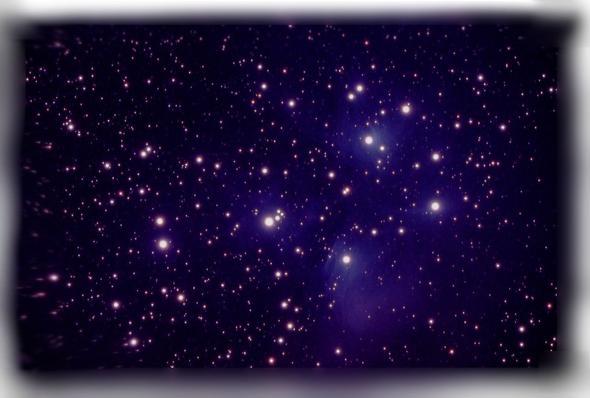 Sternenhimmel1 - (Licht, Zimmer, Wand)