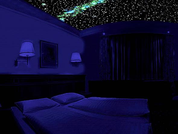 Sternenhimmel2 - (Licht, Zimmer, Wand)