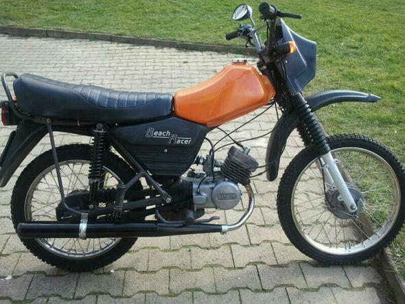 meine orangene - (Motorrad, Simson)