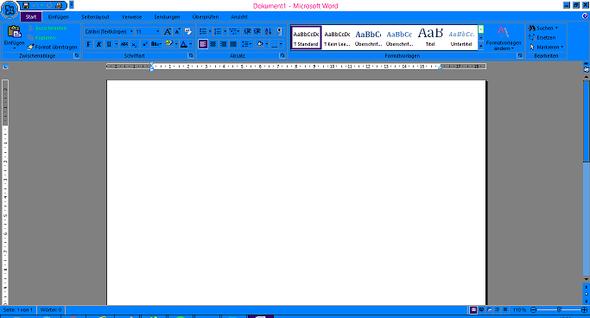Microsoft office Word 2007 - (PC, Windows 7, Farbe)
