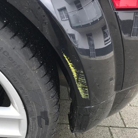 Farbe Wegbekommen Am Auto Kratzer Lack
