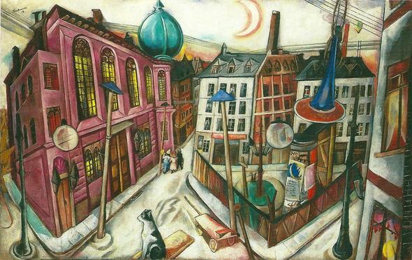 Max Beckmann  - (Farbe, Kunst, Kontrast)